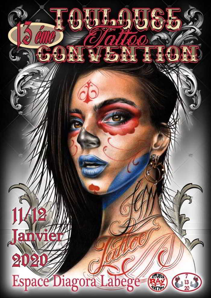 Salon de Tatouage Toulouse 2020